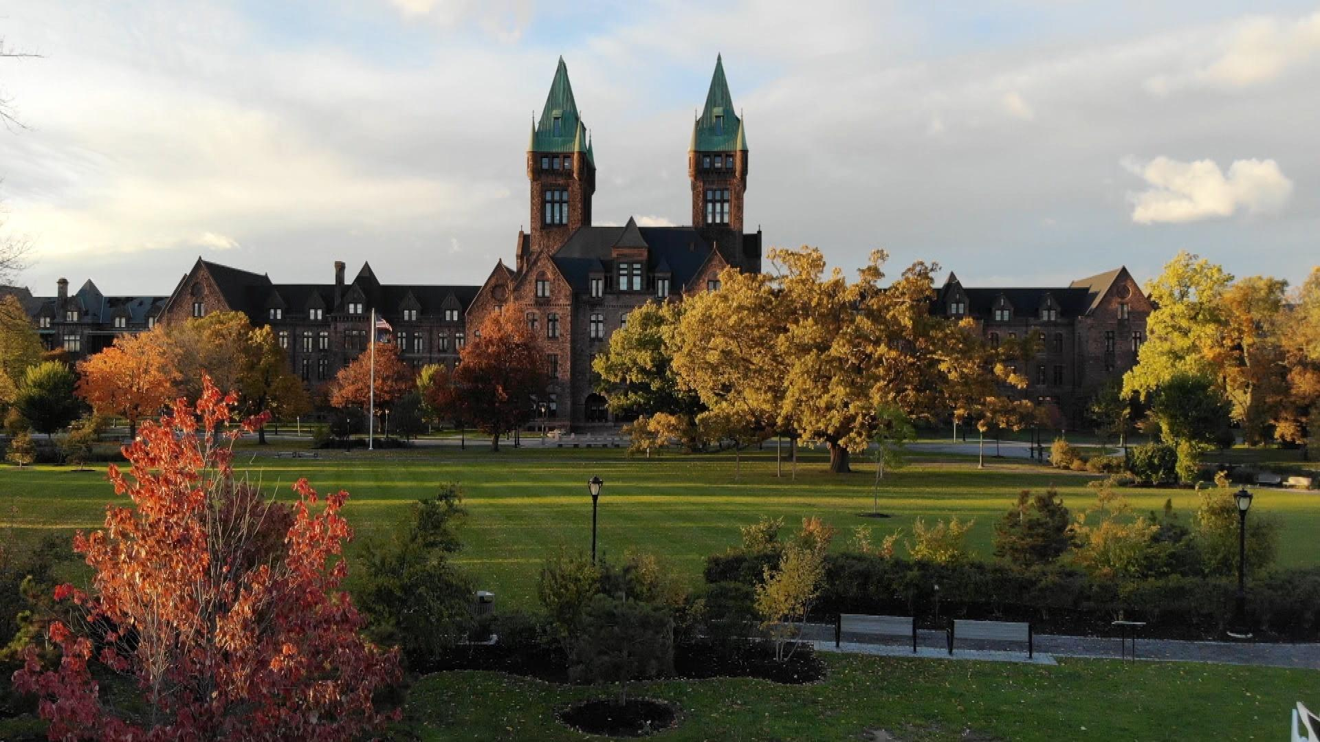 Richardson Olmsted Campus photo from WNED-TV's Reimagining A Buffalo Landmark