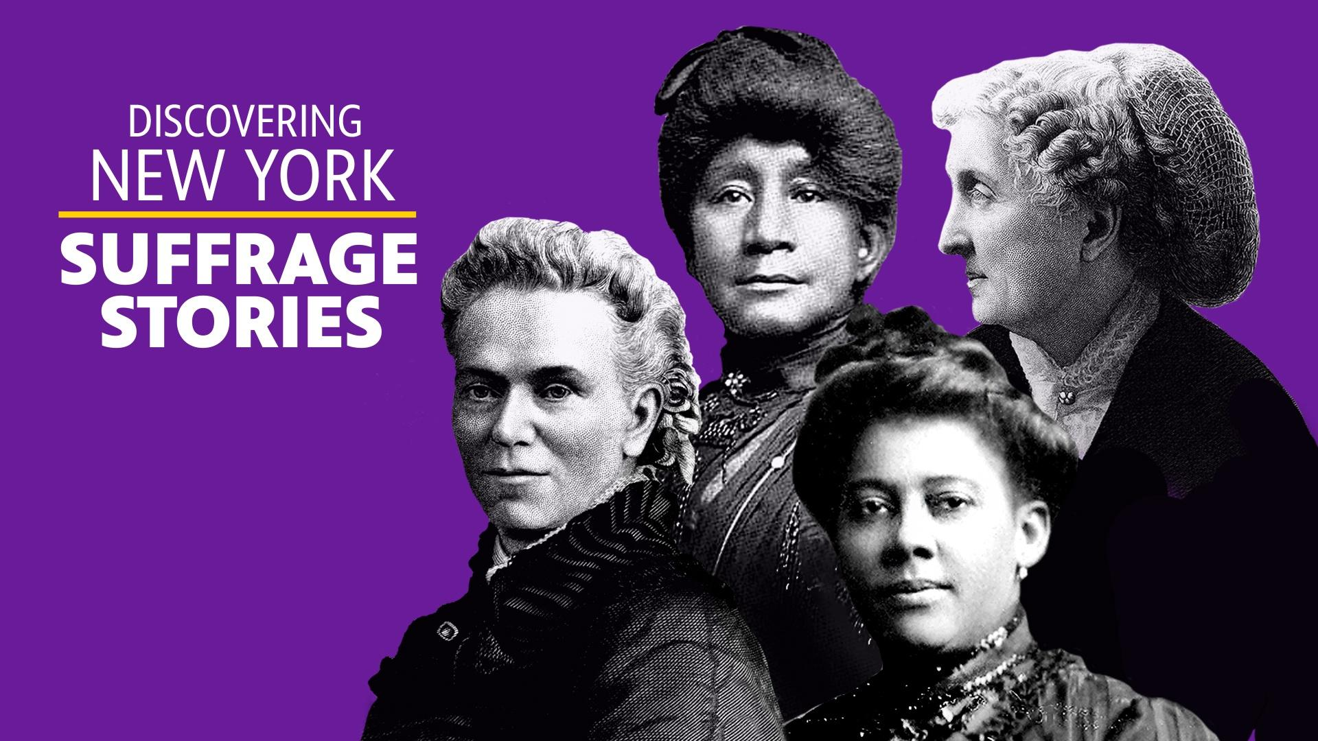 Discovering NY Suffrage Stories