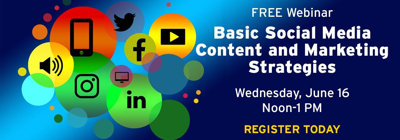 Basic Social Media Content and Marketing Strategies