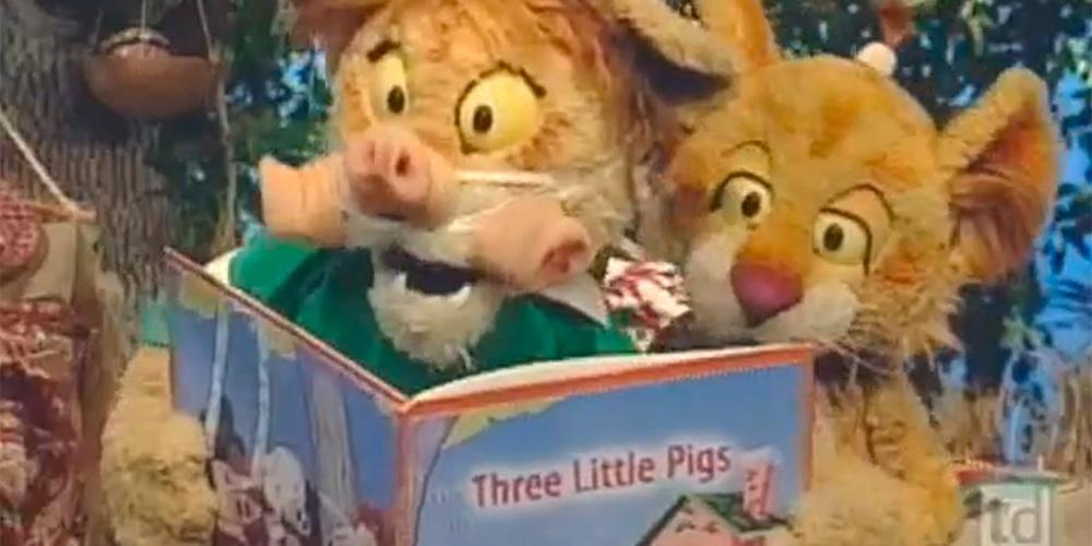 The Three Little Pigs — Between the Lions