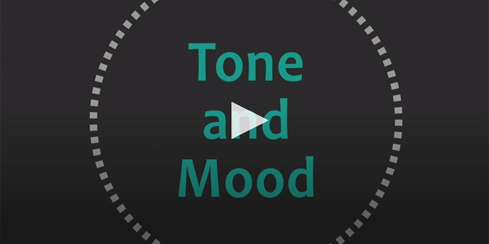 Literary Elements and Techniques | Tone and Mood