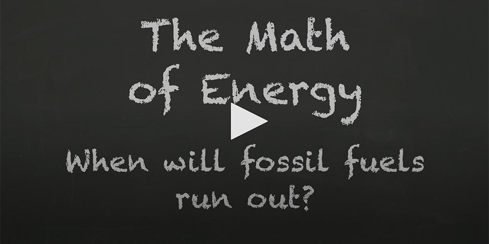The Math of Energy: Fossil Fuel Usage