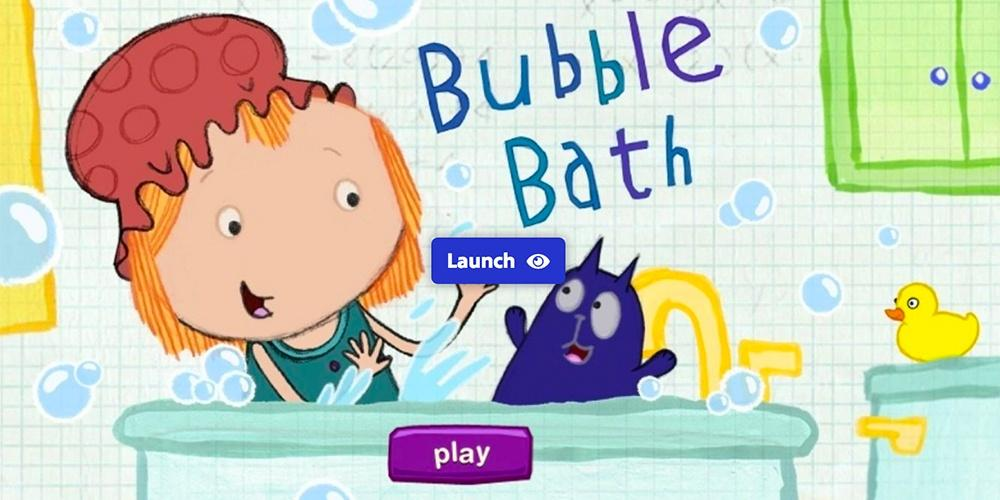 Bathtub Splash — Peg + Cat