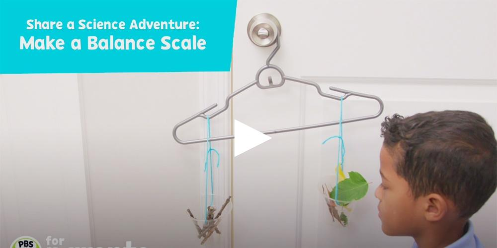 Balancing Nature: Science Crafts for Kids — Peg + Cat