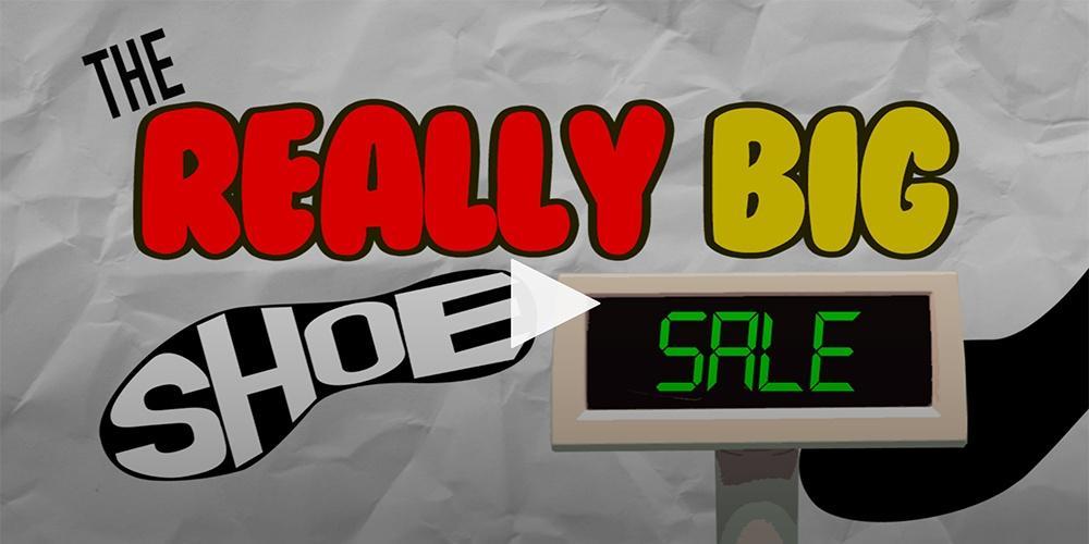The Really Big Shoe Sale