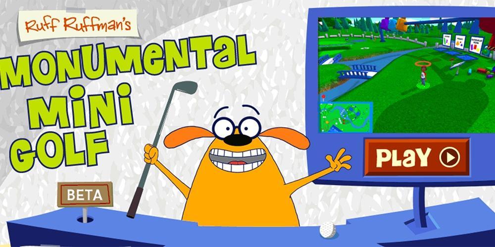 Ruff Ruffman's Monumental Mini Golf