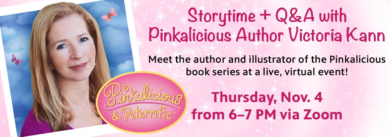 Storytime + Q&A With Pinkalicious Author Victoria Kann