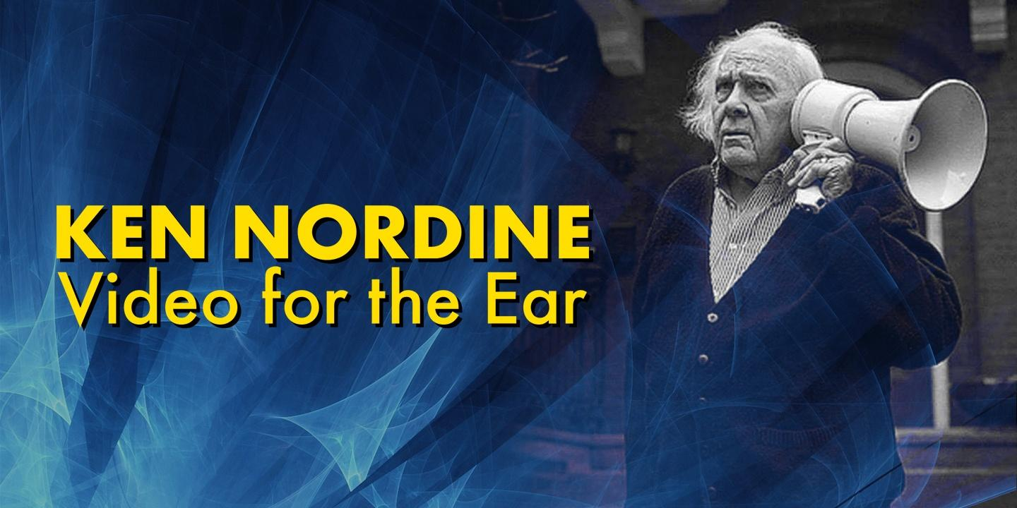 Ken Nordine: Video for the Ear