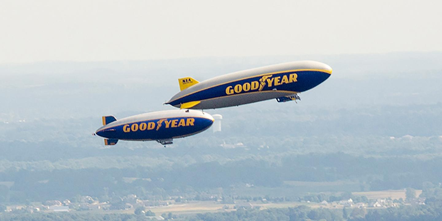 Blimp! Sports, Broadcasting and the Goodyear Airship