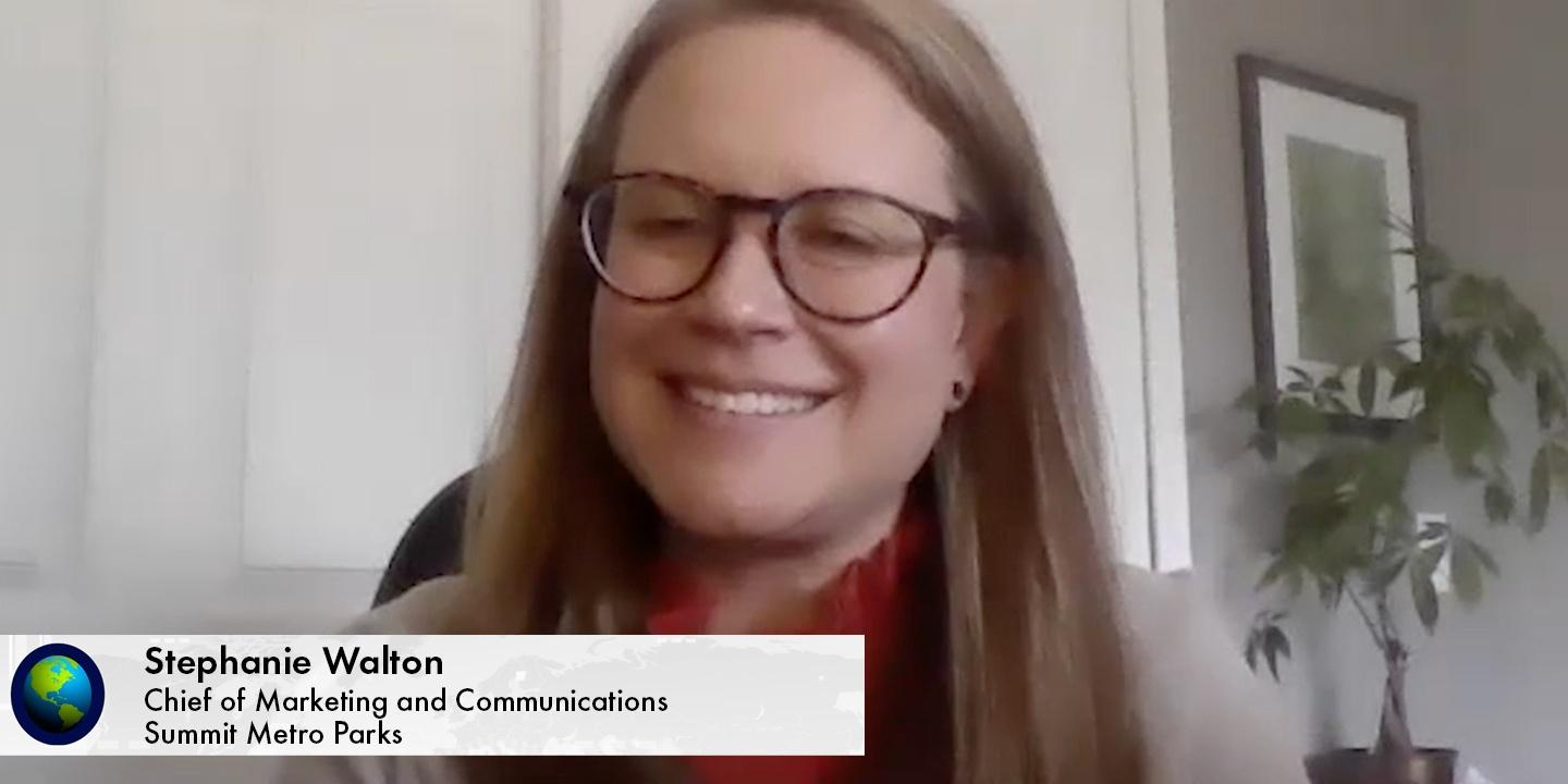 Stephanie Walton, Chief of Marketing and Communications of Summit Metro Parks