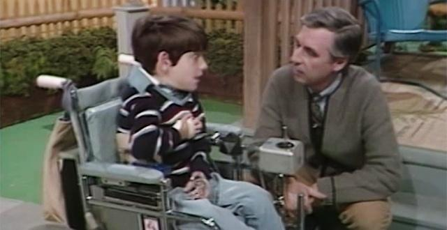Mister Rogers' Neighborhood: A Visit with a Boy in a Wheelchair