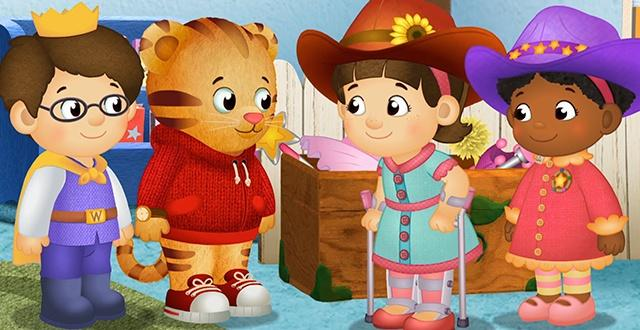 Daniel Tiger and friends look at ways they are different and all the ways that we are the same.
