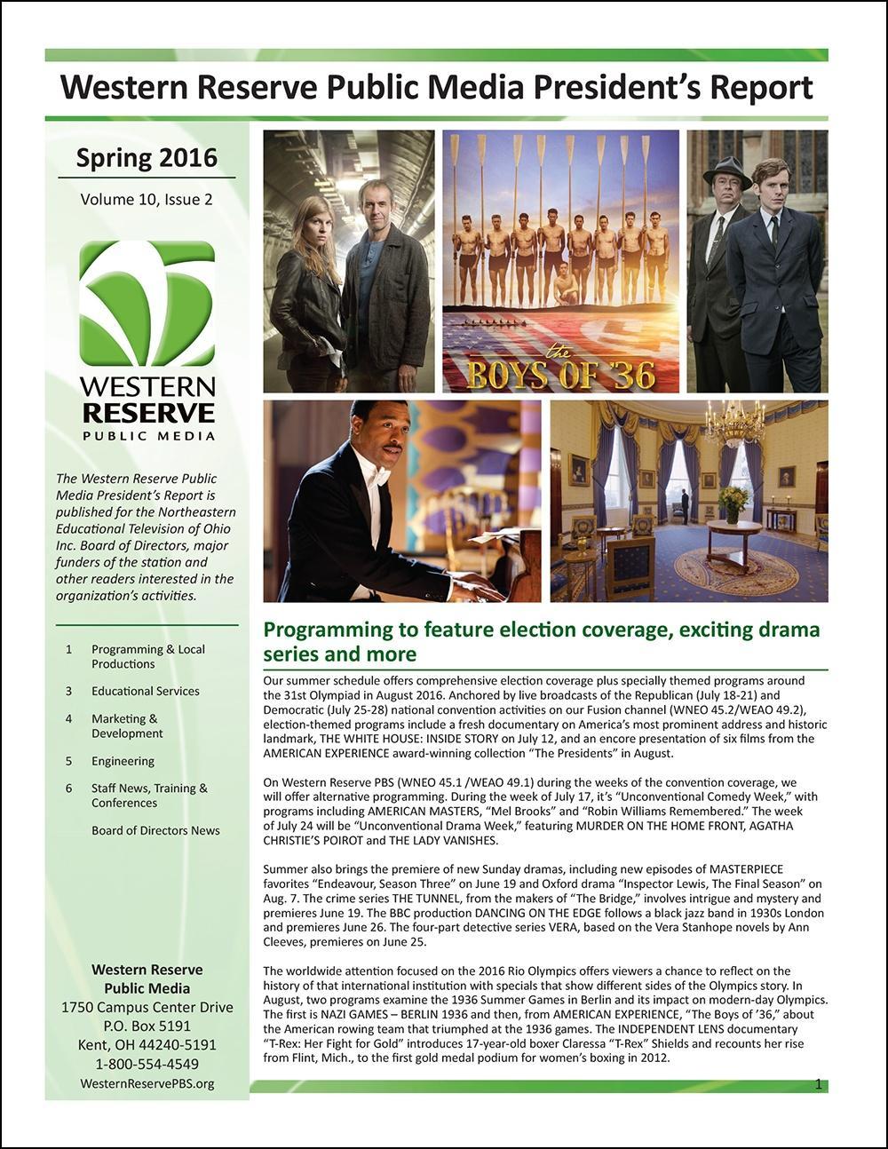 Spring 2016 - Volume 10, Issue 2
