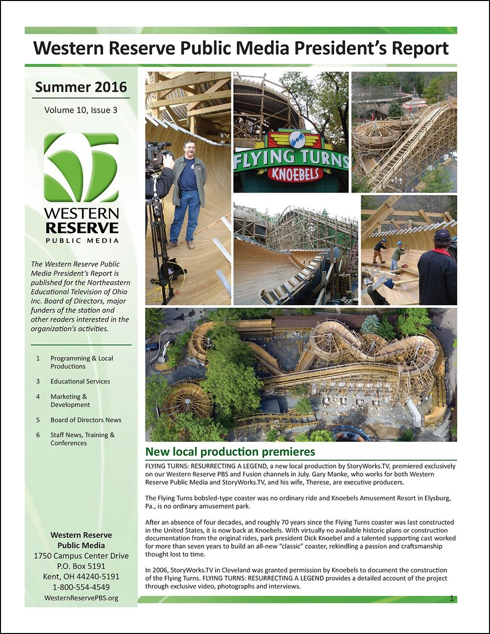 Summer 2016 - Volume 10, Issue 3