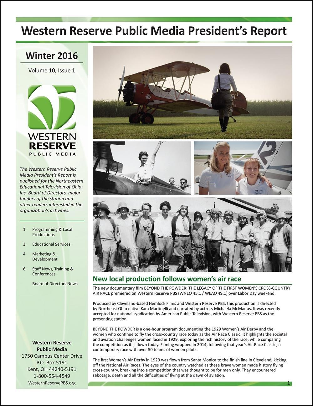 Winter 2016 - Volume 10, Issue 1