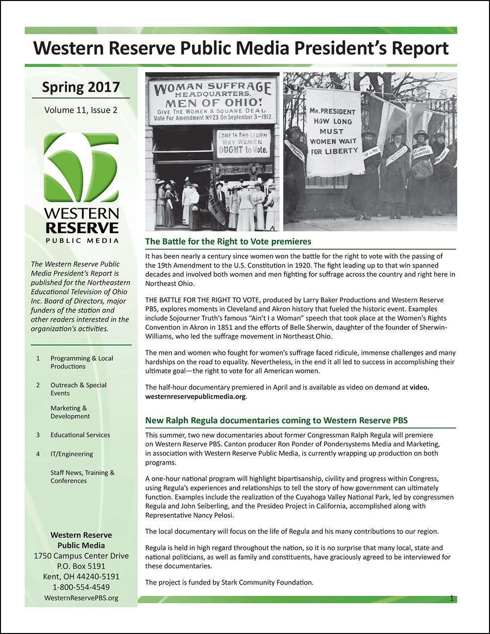 Spring 2017 - Volume 11, Issue 2