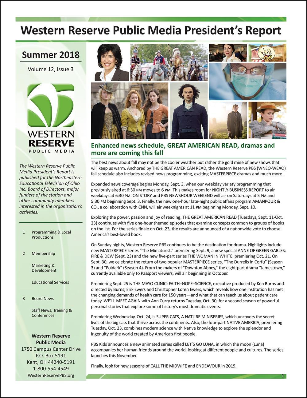 Summer 2018 - Volume 12, Issue 3