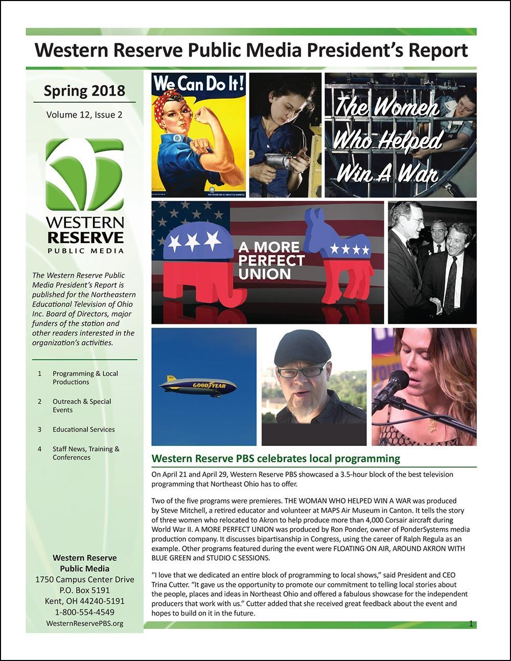 Spring 2018 - Volume 12, Issue 2