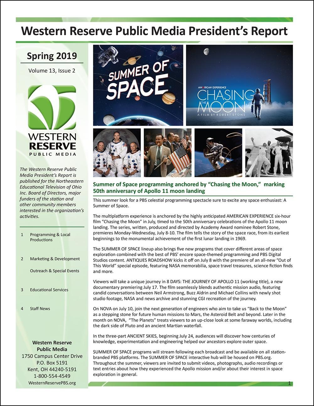Spring 2019 - Volume 13, Issue 2