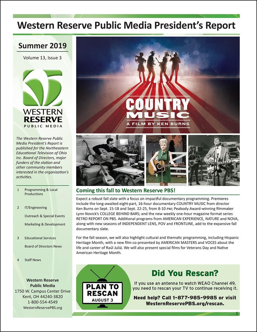 Summer 2019 - Volume 13, Issue 3