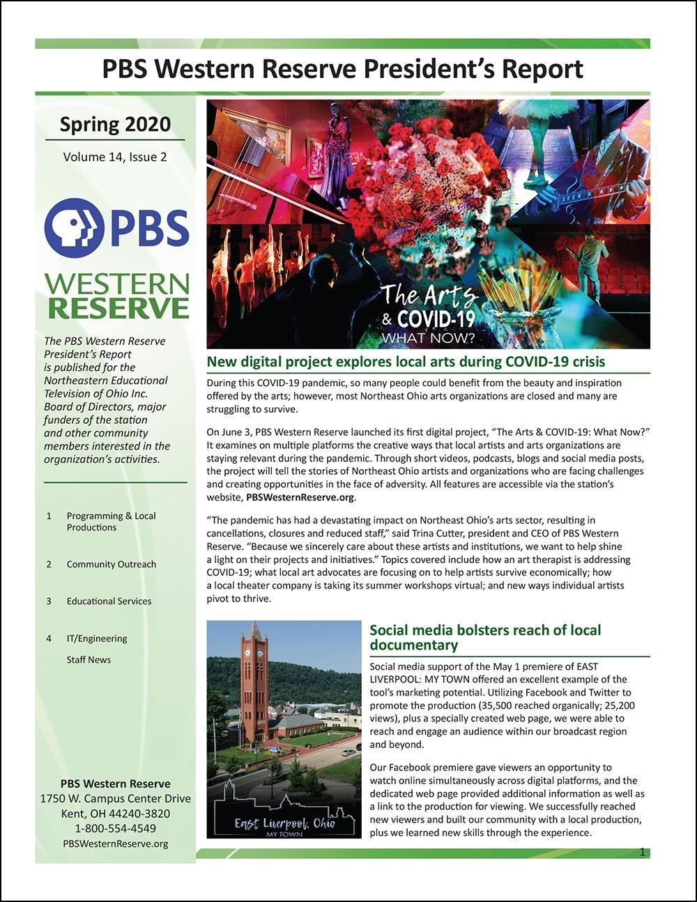 Spring 2020 - Volume 14, Issue 2