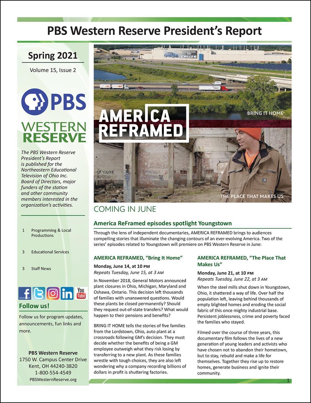 Spring 2021 - Volume 15, Issue 2