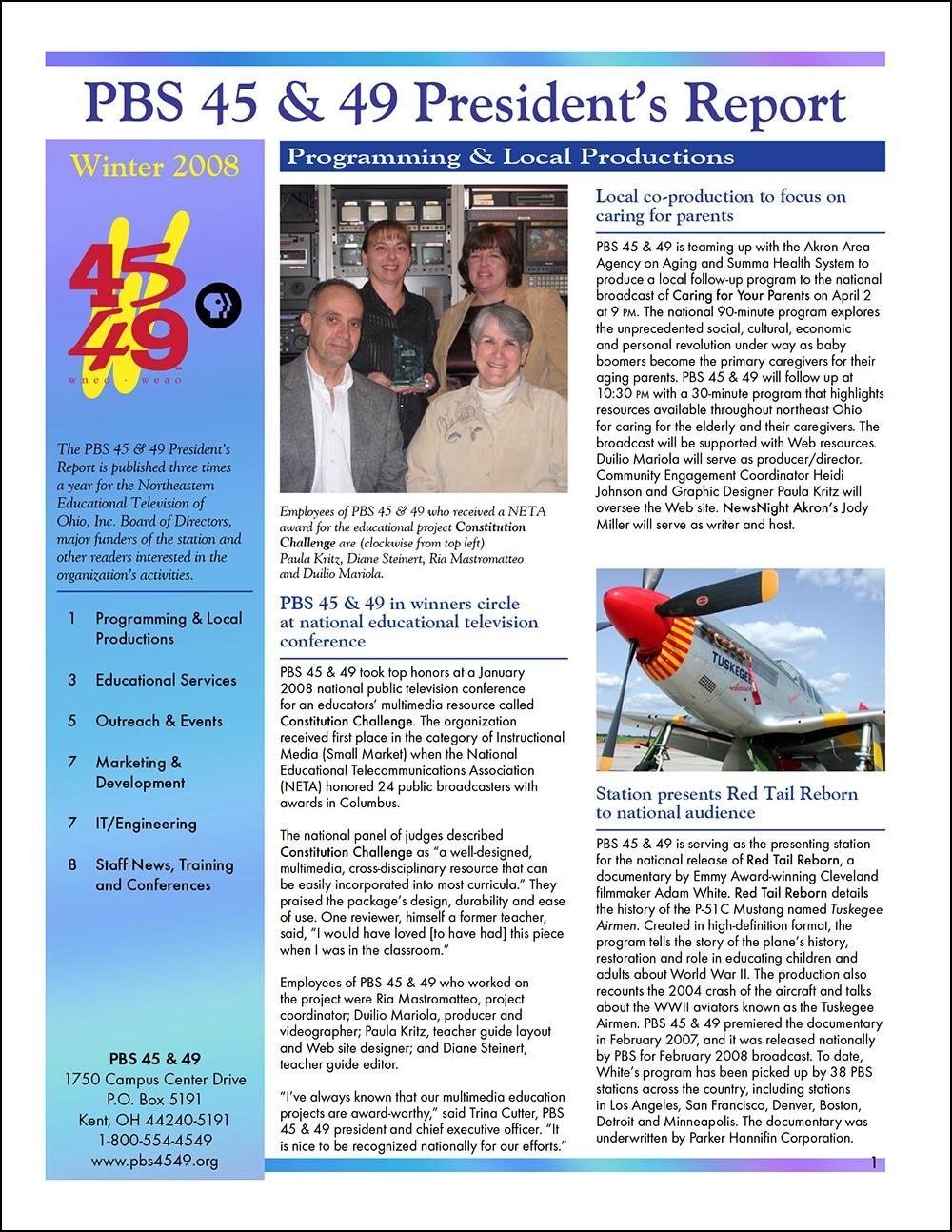 Winter 2008 - Volume 2, Issue 1