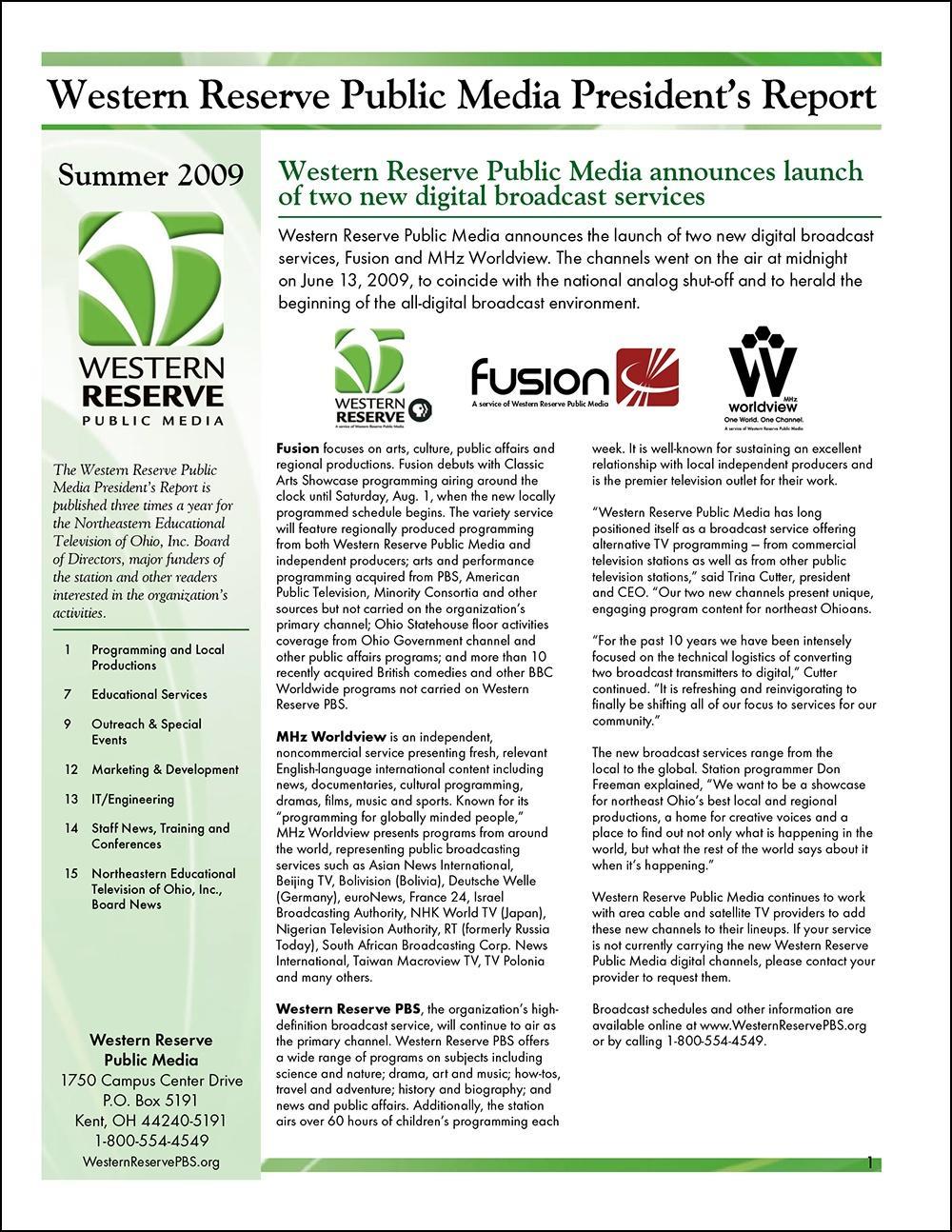 Summer 2009 - Volume 3, Issue 2