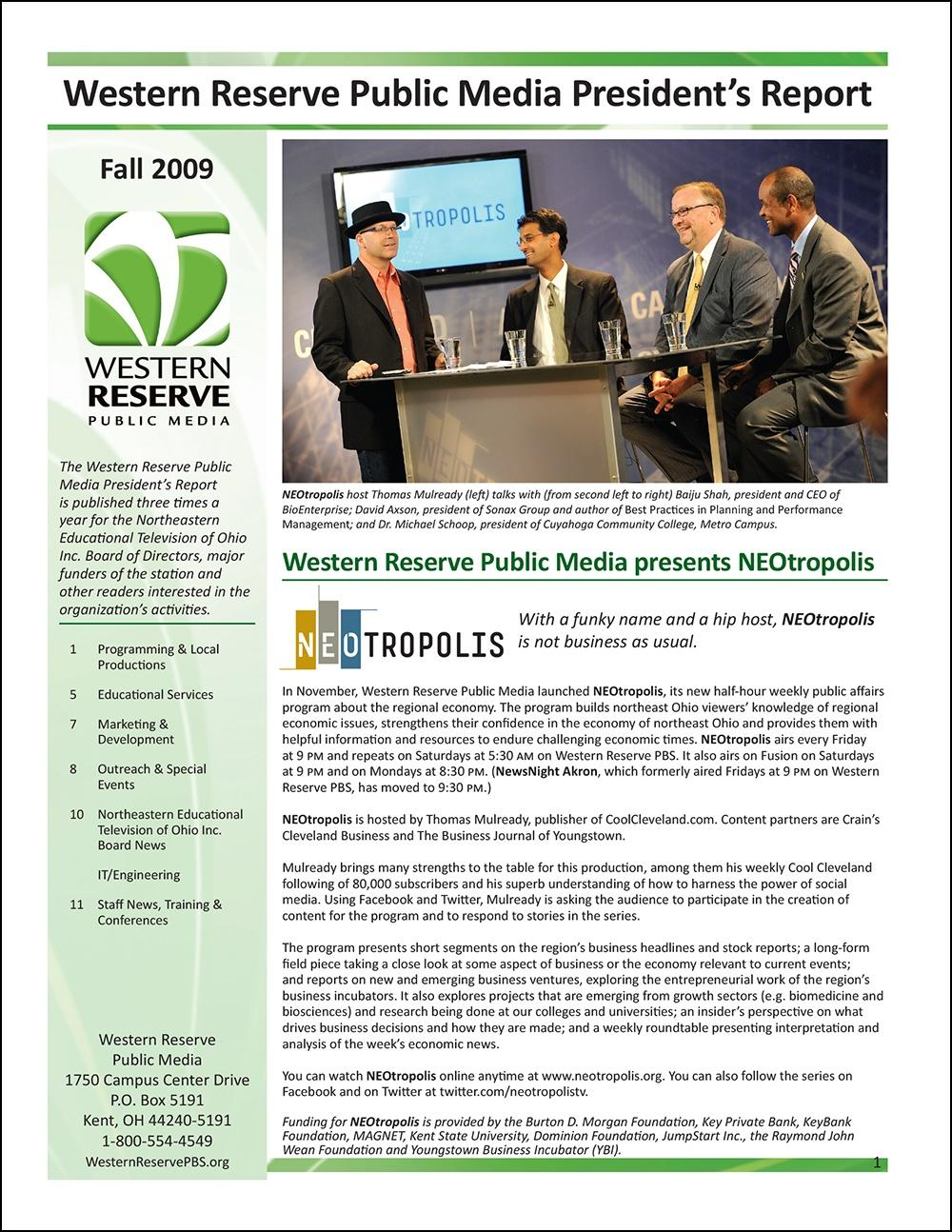 Fall 2009 - Volume 3, Issue 3