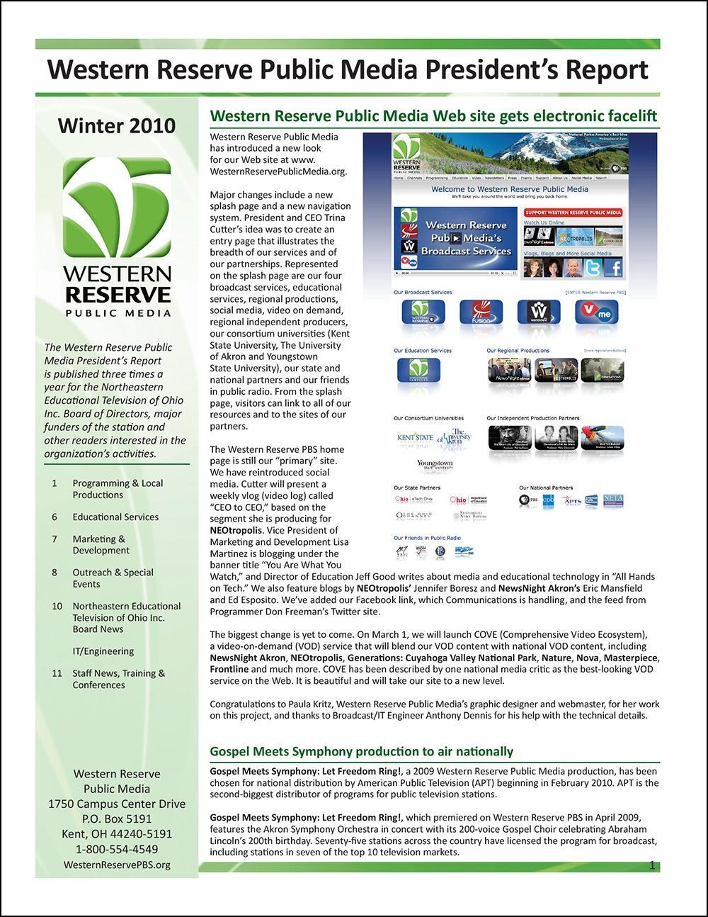 Winter 2010 - Volume 4, Issue 1