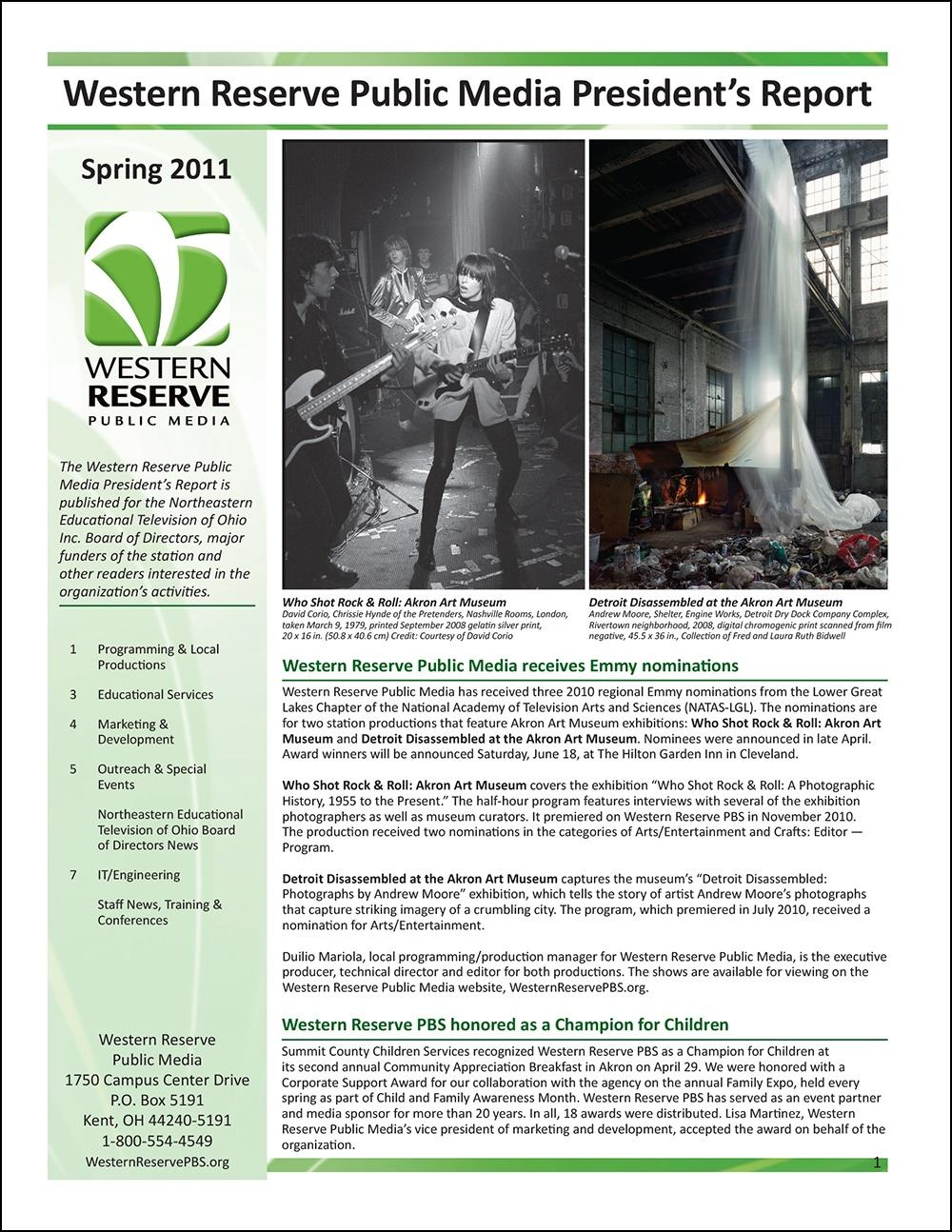 Spring 2011 - Volume 5, Issue 1