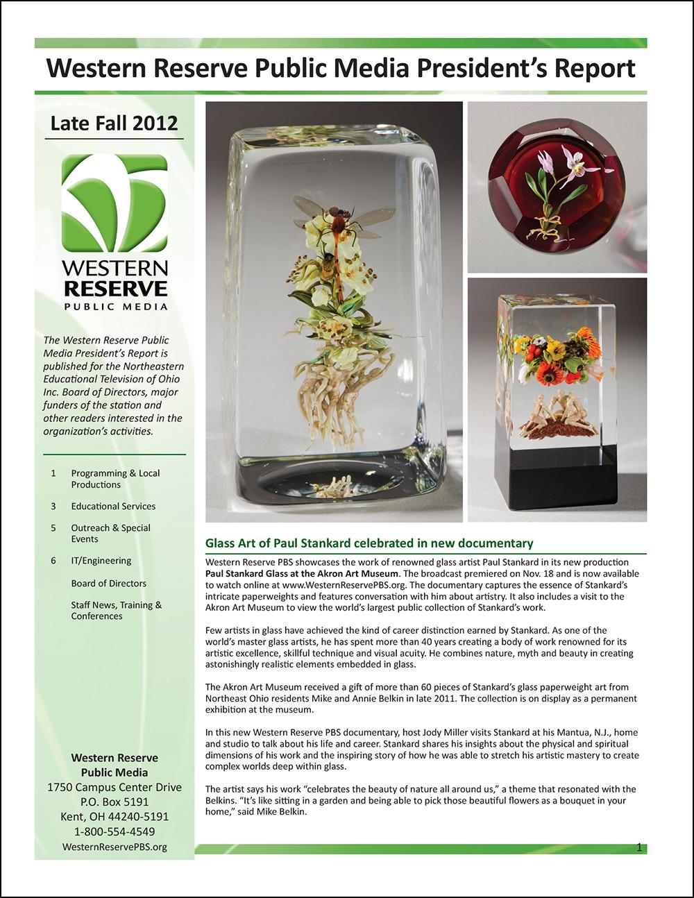 Late Fall 2012 - Volume 6, Issue 4