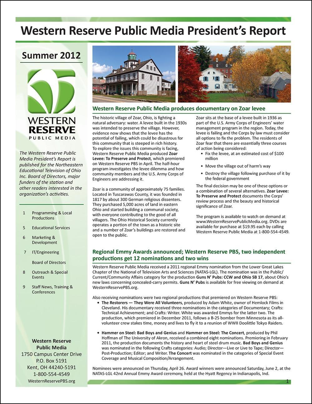 Summer 2012 - Volume 6, Issue 2