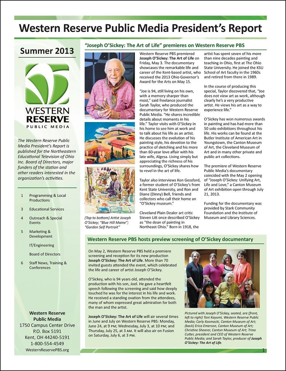 Summer 2013 - Volume 7, Issue 2