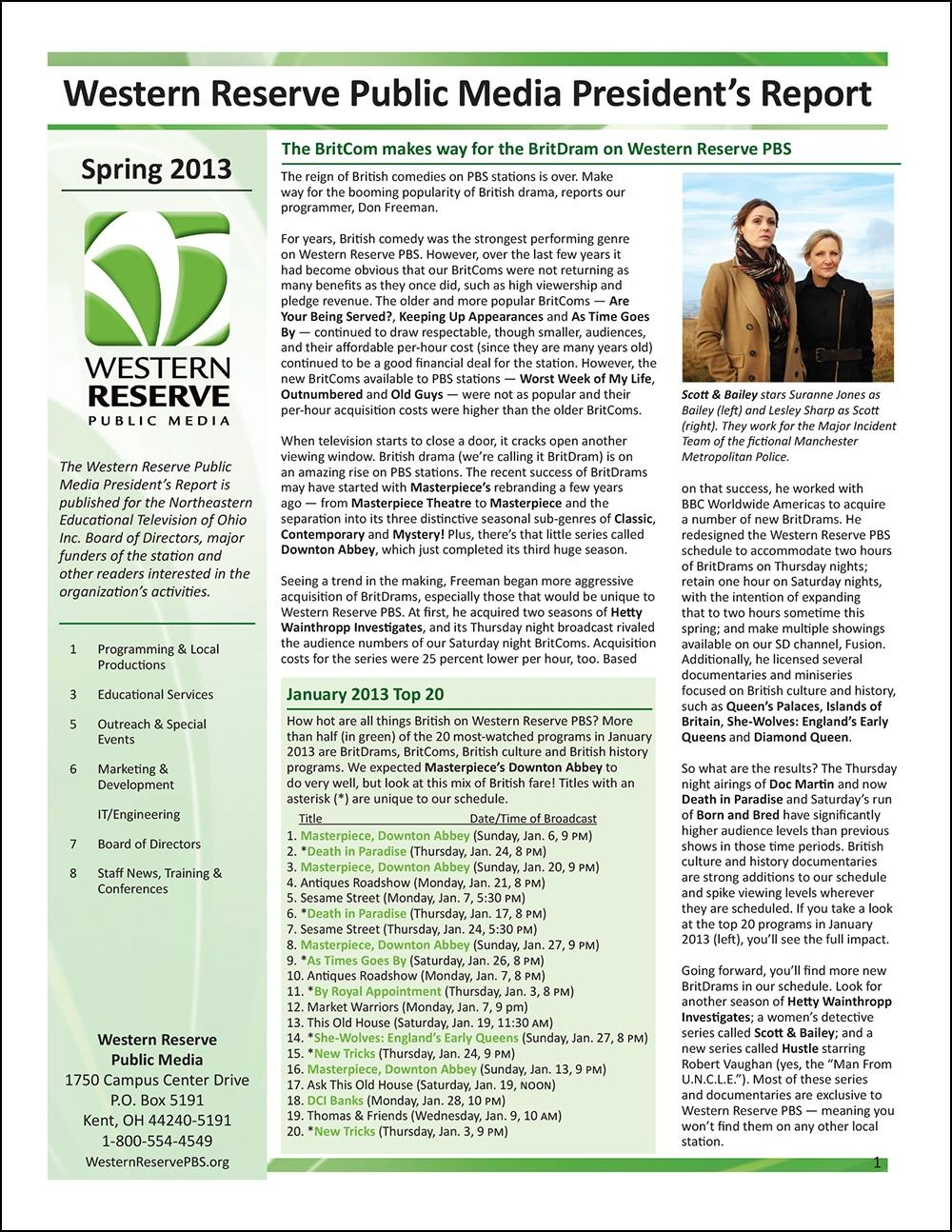Spring 2013 - Volume 7, Issue 1