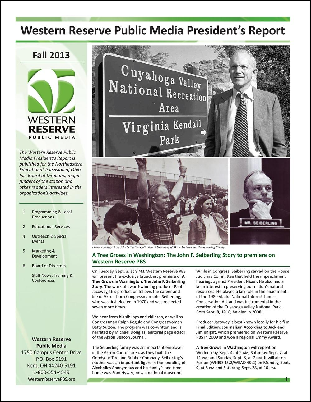 Fall 2013 - Volume 7, Issue 3