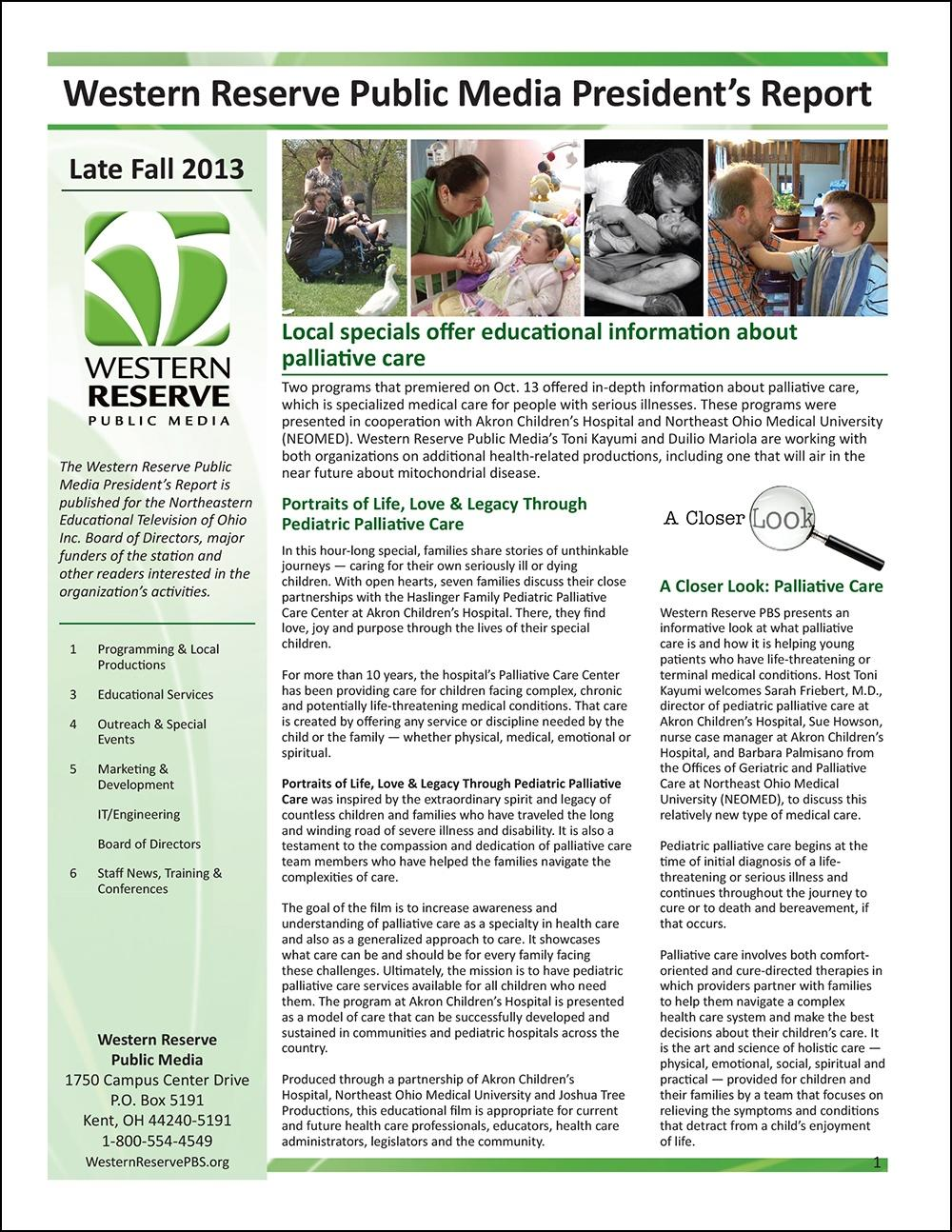 Late Fall 2013 - Volume 7, Issue 4