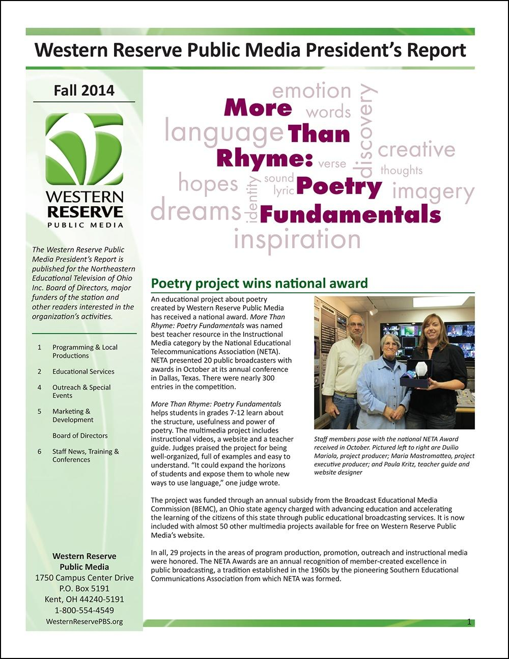 Fall 2014 - Volume 8, Issue 4