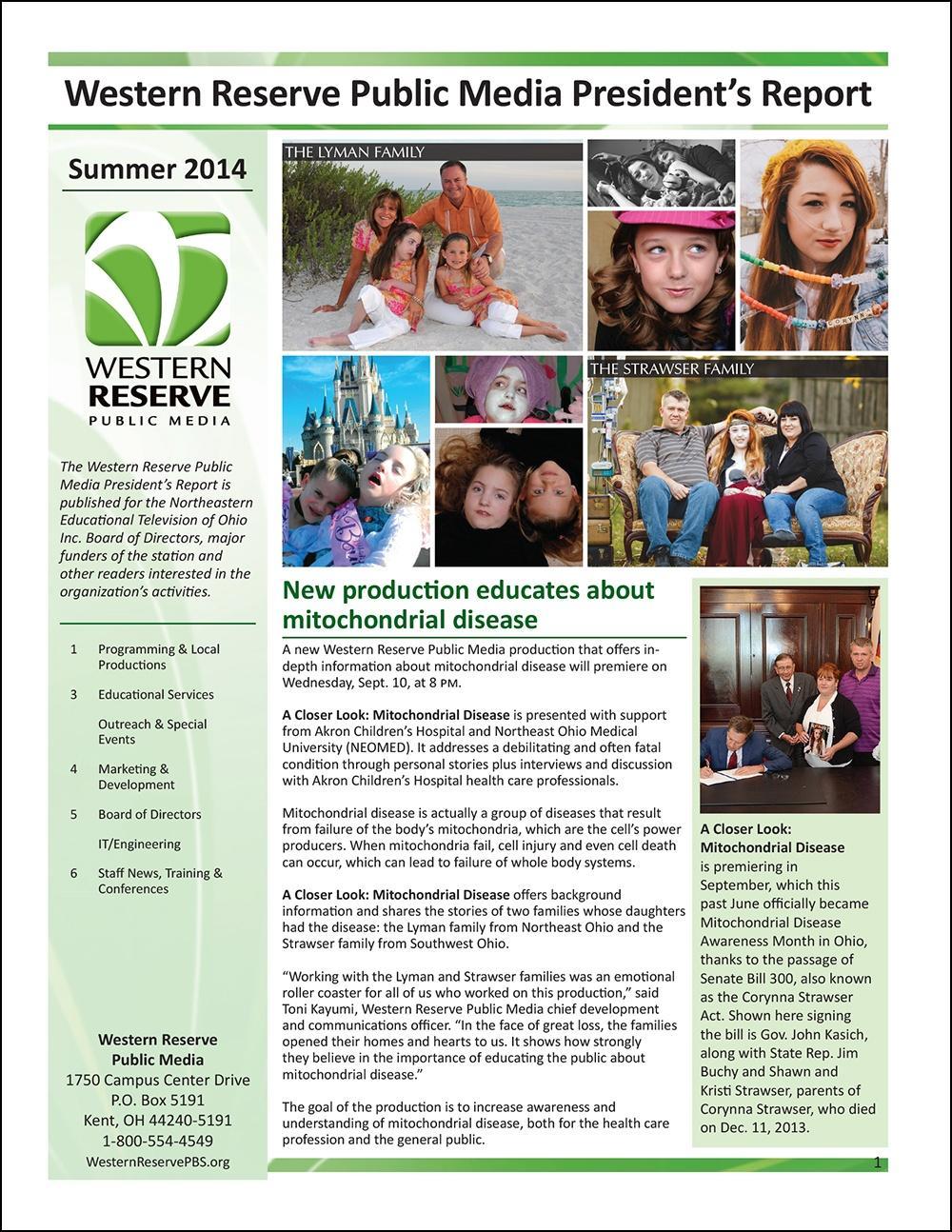 Summer 2014 - Volume 8, Issue 3