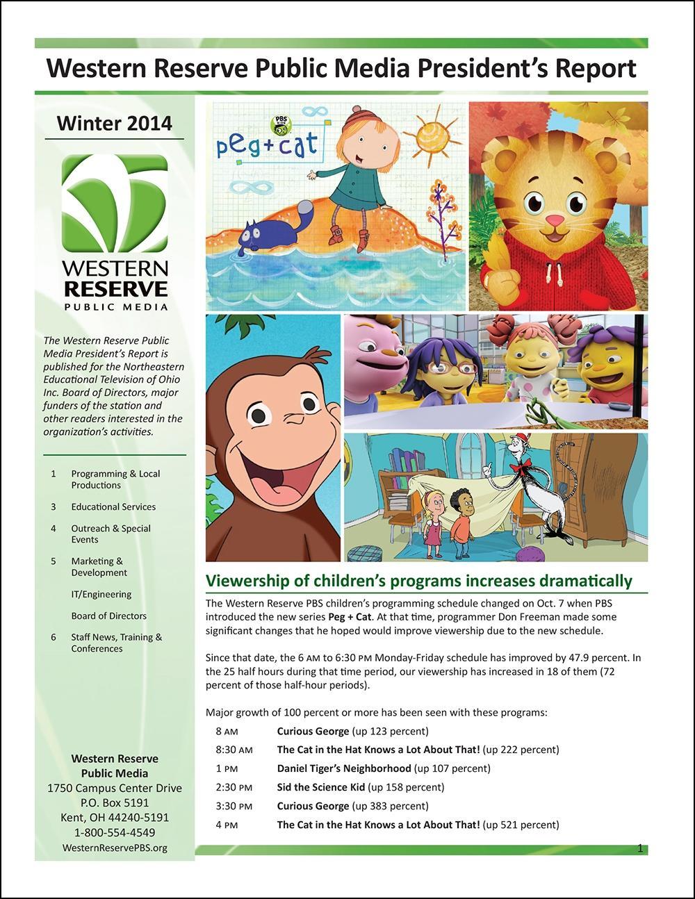 Winter 2014 - Volume 8, Issue 1