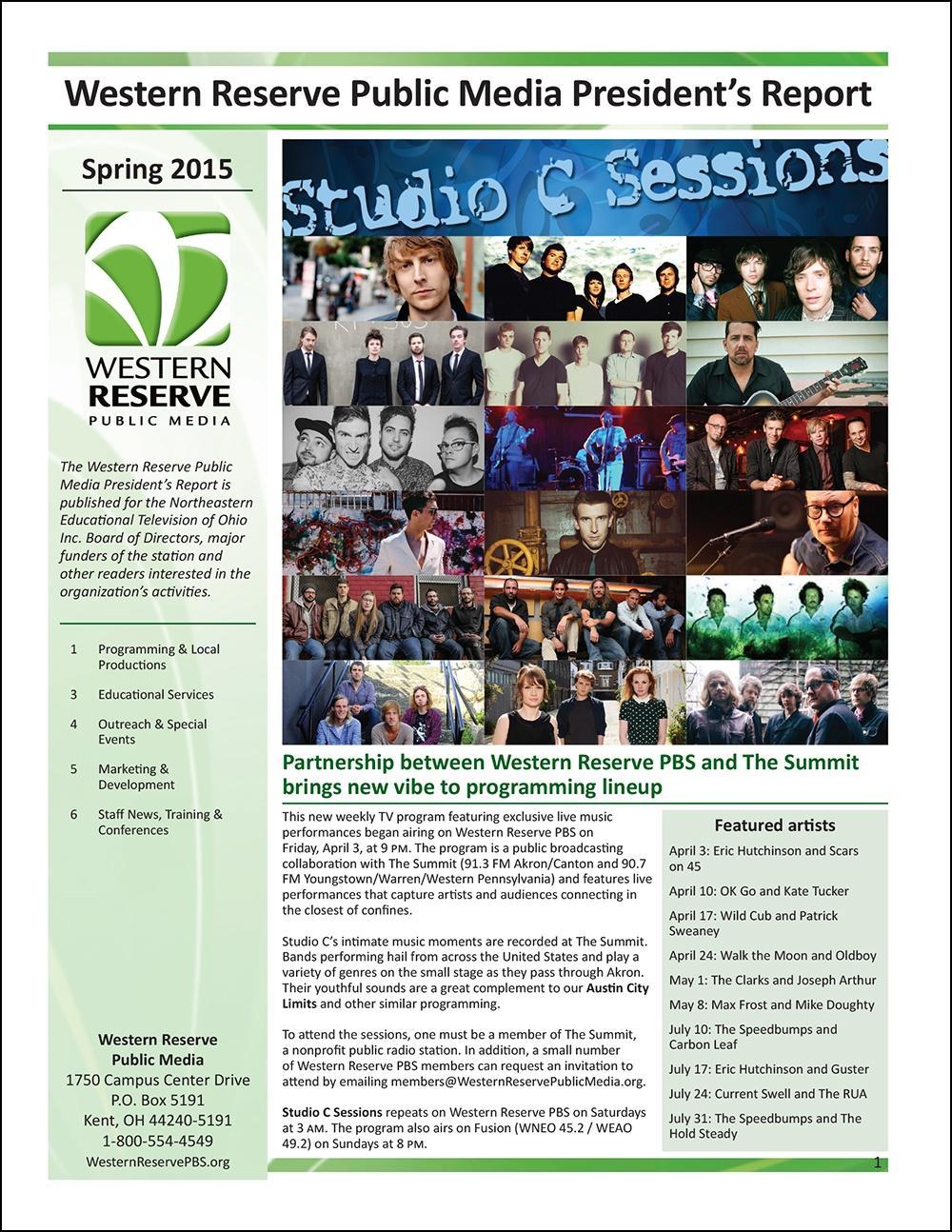 Spring 2015 - Volume 9, Issue 2