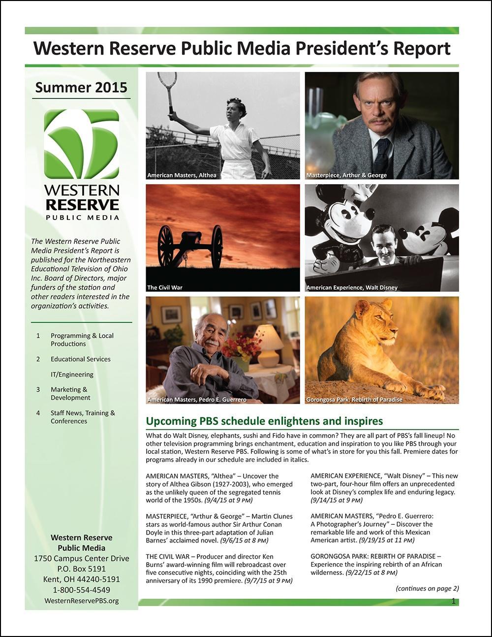 Summer 2015 - Volume 9, Issue 3