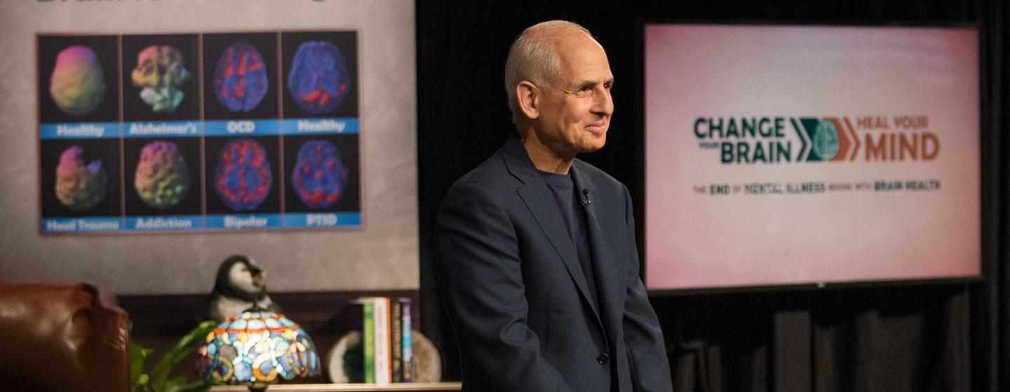 Change Your Brain, Heal Your Mind with Daniel Amen, MD