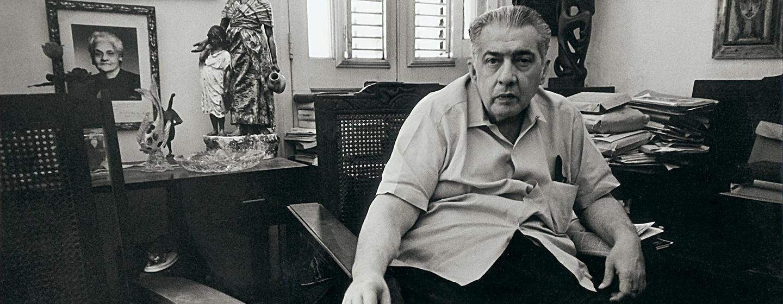 Cuban writer José Lezama Lima