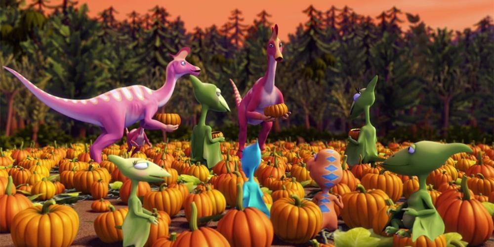 Dinosaur Train, Haunted Roundhouse/Big Pond Pumpkin Patch