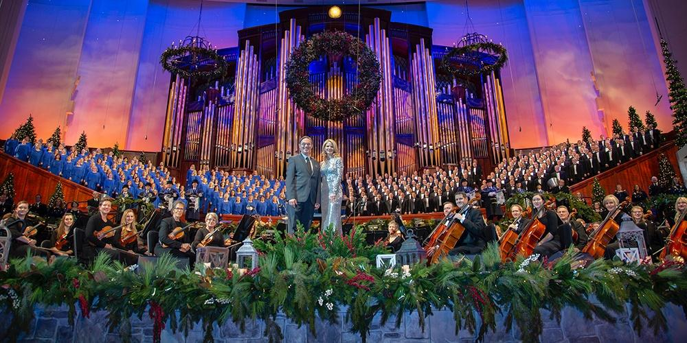 Christmas with the Tabernacle Choir Featuring Kelli O'Hara and Richard Thomas