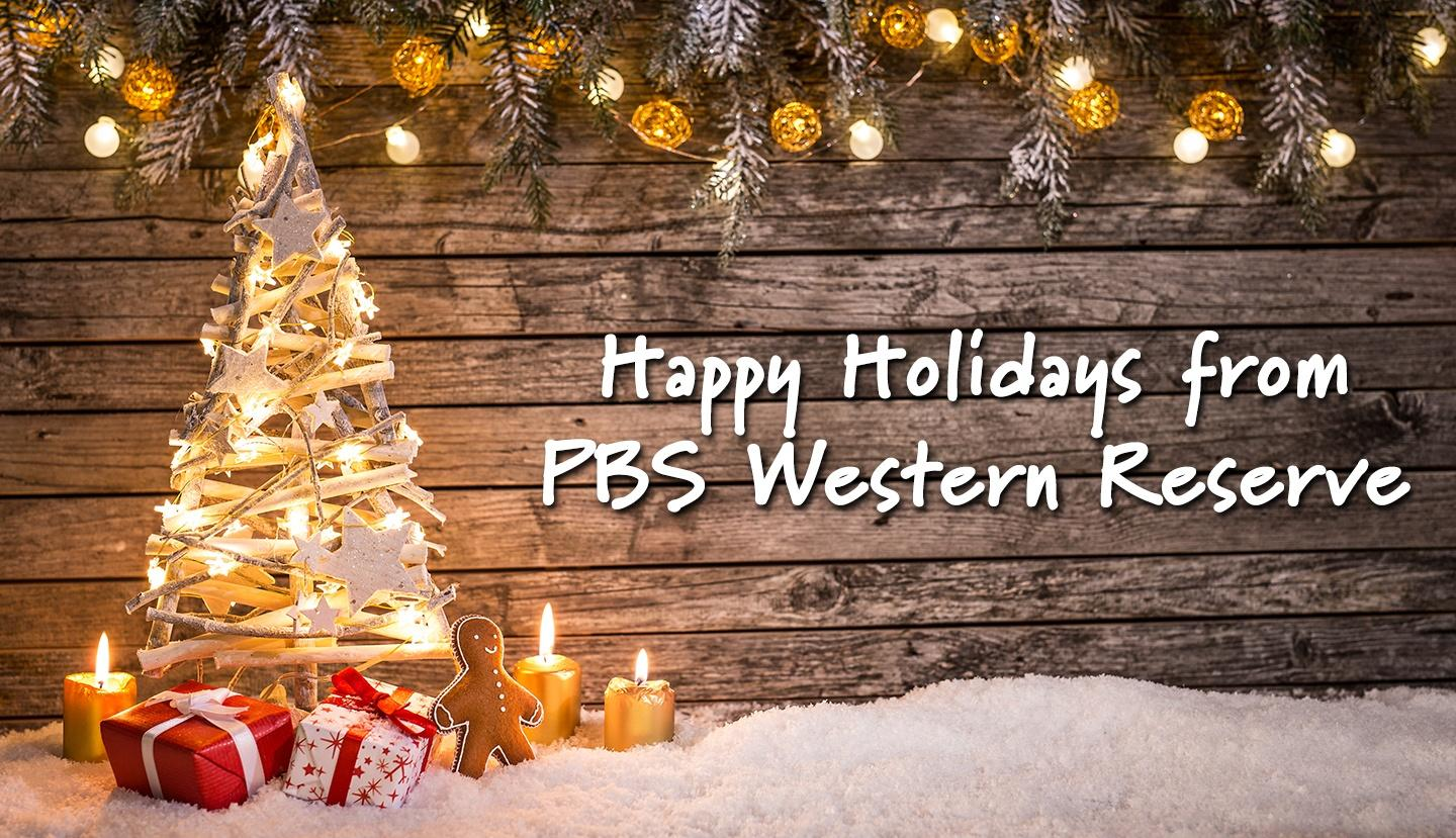 Happy Holidays from PBS Western Reserve