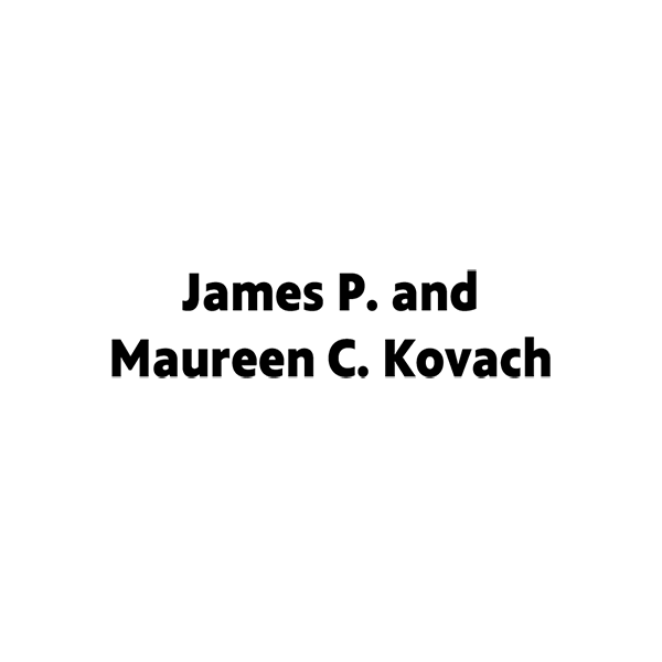 James P. and Maureen C. Kovach