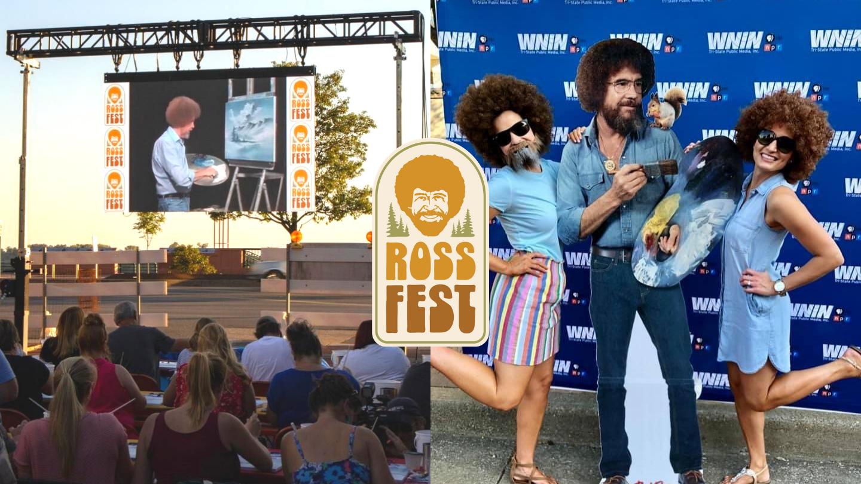 Ross Fest painters & costume contest