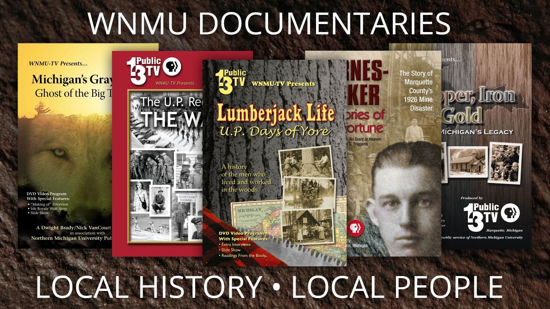 WNMU Documentaries DVD Covers